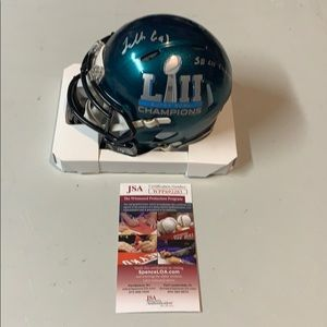 Other - Fletcher Cox Signed Eagles Super Bowl LII Helmet